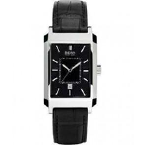 Uhrenarmband Hugo Boss HB-47-1-14-2143 / HB659302142 / 15122352 Leder Schwarz 22mm