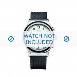 Hugo Boss Uhrenarmband HB-54-1-14-2117 / HB1512324 Kunststoff Schwarz 22mm