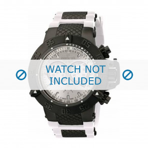 Invicta Uhrenarmband 11840 Kunststoff Weiss