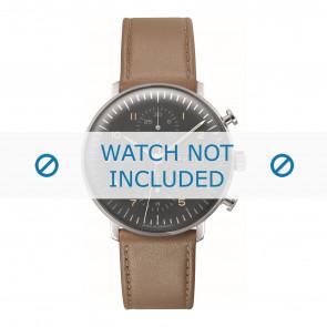 Junghans Uhrenarmband 027/4501.01 Leder Braun 20mm + standardnähte