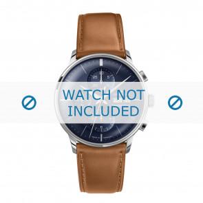 Junghans Uhrenarmband 027/4526.00 Leder Cognac 21mm + standardnähte