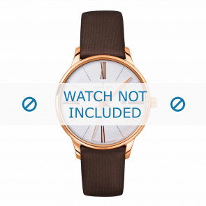 Junghans Uhrenarmband 047/7571.00 Leder Braun 14mm