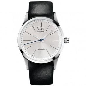 Uhrenarmband Calvin Klein K2241126 Leder Schwarz