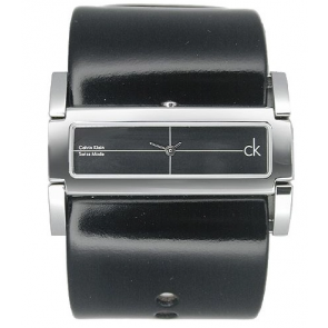 Uhrenarmband Calvin Klein K44231 Leder Schwarz