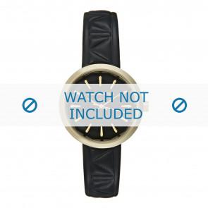 Karl Lagerfeld Uhrenarmband KL1610 Leder Schwarz