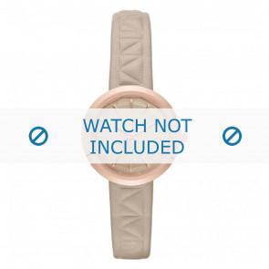 Karl Lagerfeld Uhrenarmband KL1612 Leder Beige