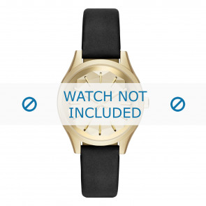 Karl Lagerfeld Uhrenarmband KL1617 Leder Schwarz