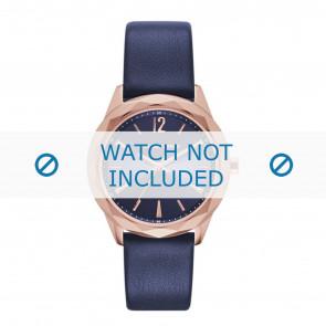 Karl Lagerfeld Uhrenarmband KL4004 Leder Blau