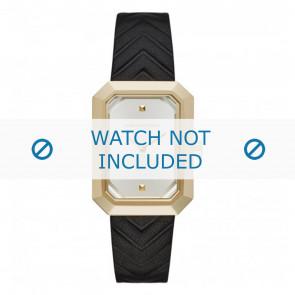 Karl Lagerfeld Uhrenarmband KL6102 Leder Schwarz
