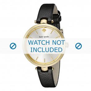 Kate Spade New York Uhrenarmband 1YRU0811 Leder Schwarz