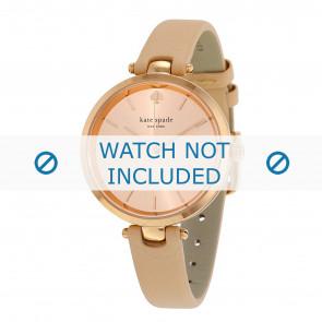 Kate Spade New York Uhrenarmband 1YRU0812 / Holland Leder Beige