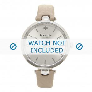 Kate Spade New York Uhrenarmband 1YRU0813 / Holland Leder Taupe