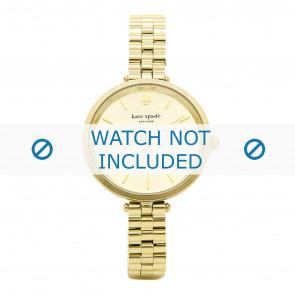 Kate Spade New York Uhrenarmband 1YRU0858 / Holland Metall Vergoldet