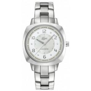 Uhrenarmband Lacoste 2000601 / LC-47-3-14-2233 Stahl Rostfreier Stahl 18mm