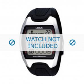 Lorus Uhrenarmband Z009-X002 Kunststoff Schwarz