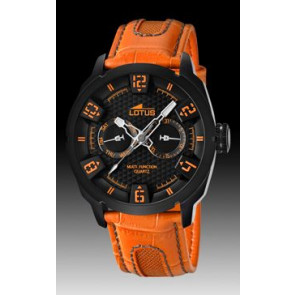 Uhrenarmband Lotus 15788-2 Leder Orange