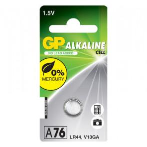 Knopf batterien GP A76 - LR44 - V13GA 1,5V alkaline 11.6 mm x 5.4 mm