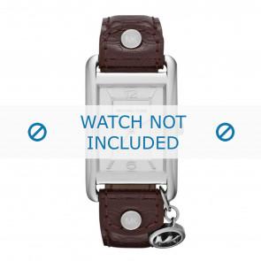 Michael Kors Uhrenarmband MK2262 Leder Braun 18mm + standardnähte