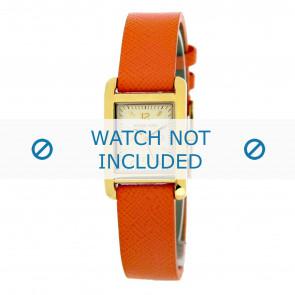 Michael Kors Uhrenarmband MK2270 Leder Orange 14mm