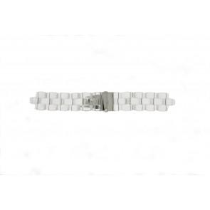 Michael Kors Uhrenarmband MK5235 Silikon Transparant 22mm