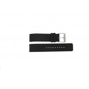 Michael Kors Uhrenarmband MK-8040 / MK-8055 Gummi Schwarz 22mm
