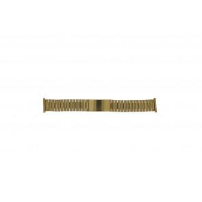 Morellato Uhrenarmband  Stahl Gold (Doublé) 22mm