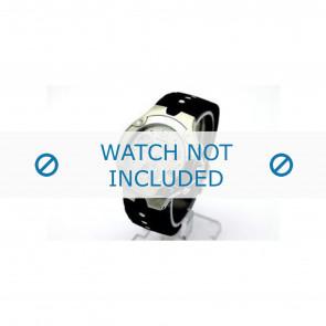Movado Uhrenarmband 84c51892.0 Kautschuk Schwarz