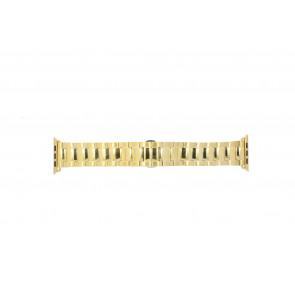 Apple (Ersatzmodell) Uhrenarmband LS.AB.106 Stahl Gold (Doublé) 42mm