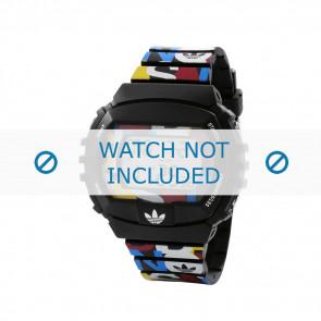 Adidas Uhrenarmband ADH6080 Kunststoff Schwarz 26mm