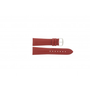 Davis Uhrenarmband rot  22mm B0194