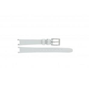 DKNY Uhrenarmband NY8782 Leder Weiß 13mm