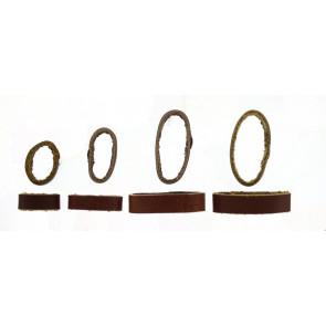 Ersatzschlaufe Leder Braun 10mm