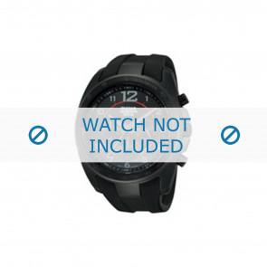 Lorus Uhrenarmband PT3605X1 / VD53 X167 Kautschuk Schwarz