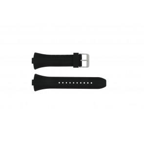 Pulsar Uhrenarmband 7T62-X133 / VX42-X124 Gummi Schwarz 10mm