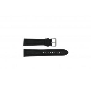 Pulsar Uhrenarmband Y182-6C10 Leder Schwarz 20mm