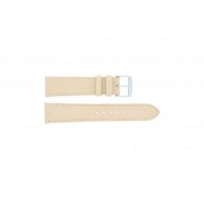 Echtes Leder Uhrenarmband ocker 22mm 283