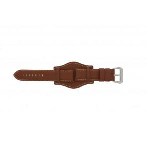PVK Uhrenarmband 386.8 Leder Braun 24mm