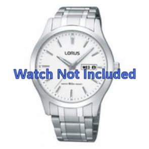 Lorus Uhrenarmband VX43-X074 Stahl Silber 20mm