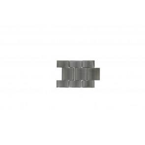 Fossil FS4662 Glieder Stahl Silber 22mm (3 Stück)