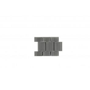 Fossil JR1437 Glieder Stahl Silber 24mm