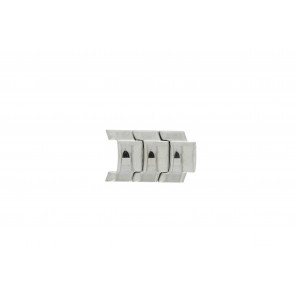 Fossil JR8142 Glieder Stahl Silber 20mm