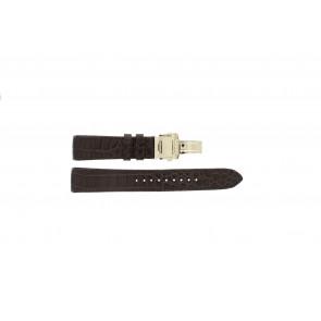 Uhrenarmband Seiko 5D88-0AA0 / SRX004P1 / 4A072JL Leder Braun 21mm