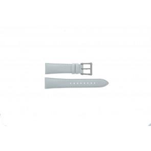 Seiko Uhrenarmband 7T92-0KS0 Leder Weiß 20mm