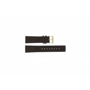 Skagen Uhrenarmband 233XXLGL Leder Braun 23mm