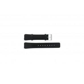 Skagen Uhrenarmband 331XLSLB / 331XLSLC Leder Schwarz 20mm