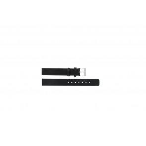 Skagen Uhrenarmband 355SSLW Leder Schwarz 14mm