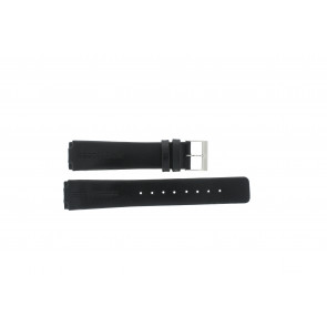 Skagen Uhrenarmband 433LSLC Leder Schwarz 20mm + standardnähte