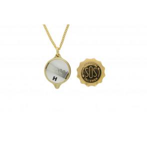 SOS talisman hanger mit ketting (soshk)