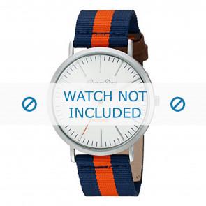 Superdry Uhrenarmband SYG183UO Nylon Blau