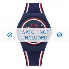 Superdry Uhrenarmband SYG198UR Kunststoff Blau